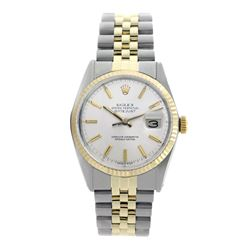 Rolex Pre-owned 36mm Mens Silver Two Tone