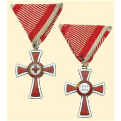 Medal - AUSTRIA - MONARCHY - RED CROSS DECORATION