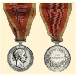 Medal - AUSTRIA - MONARCHY - BRAVERY MEDAL