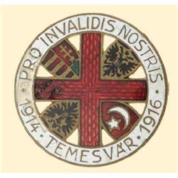 Medal - AUSTRIA - MONARCHY - RED CROSS BADGE