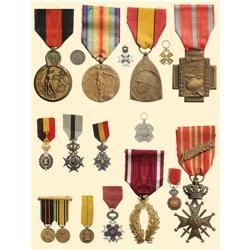 Medal - BELGIUM - MEDAL OF MERIT