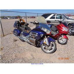 2003 - HONDA MOTORCYCLE