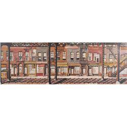 JAMES LOWELL CADY, Third Avenue El, NYC, O/B 1953