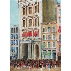 REMPE, Street Scene, New York Stock Exchange, O/C