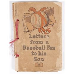 Book: Letters From A Baseball Fan to His Son