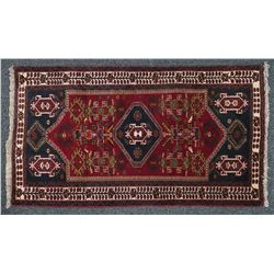 Hand Knotted Kazak Design Rug