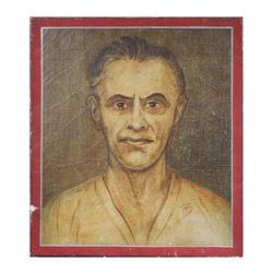 BYRON BROWNE?��Self Portrait O/C, 1949