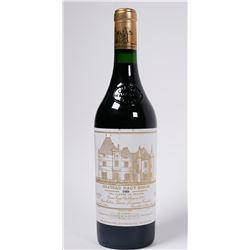 WINE: 1989 Chateau Haut Brion Bordeaux bottle