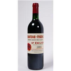 WINE: 1990 Chateau Figeac Saint-Emilion Grand Cru