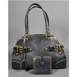Louis Vuitton Black Suhali Le Radieux Bag