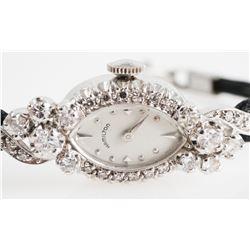 Lady's DIAMOND & 14K HAMILTON Wristwatch