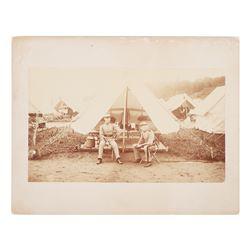 Post Civil War 7th New York Militia Photograph