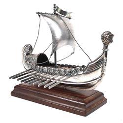 Sterling Viking Raider Medieval Dreki Model Ship
