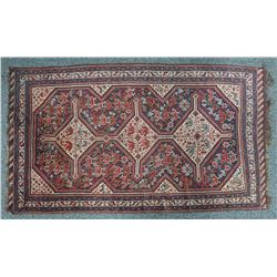Hand Knotted Tribal Rug