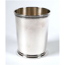MARK SCEARCE Sterling Mint Julep Cup Richard Nixon