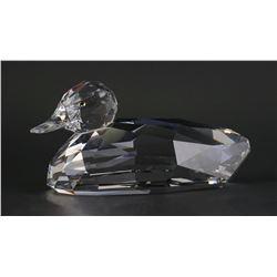 Swarovski Crystal GIANT MALLARD DUCK Figurine
