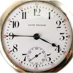 SETH THOMAS Model 5 1890's Full Plate Pocket Watch
