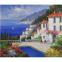 ANTONI, Mediterranean Coastal View, O/C