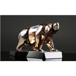 Swarovski Crystal SOULMATES POLAR BEAR
