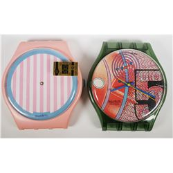 SWATCH WATCH, 2 Maxi Wall DAN KOMAR