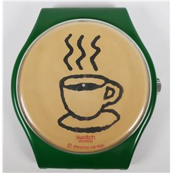SWATCH WATCH, Coffee Maxi Wall DAN KOMAR