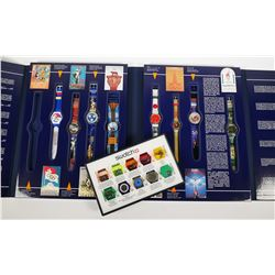 SWATCH WATCH Parts Display & Olympics Set