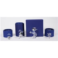(4) Swarovski Crystal DISNEY Figurines
