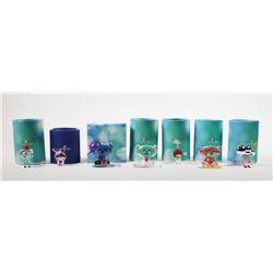 (7) Swarovski Crystal Figurines Lovlots