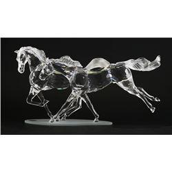 Swarovski Crystal WILD HORSES Figurine