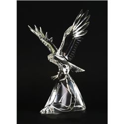 Swarovski Crystal Clear EAGLE Sculpture Figurine