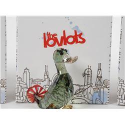(3) Swarovski Crystal LOVLOTS Figurines