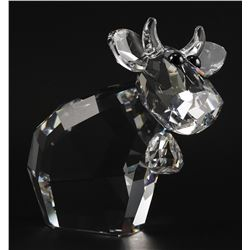 Swarovski Crystal MISSY MO Large Cow Figurine