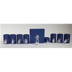 (9) Swarovski Crystal DISNEY SNOW WHITE Figurines