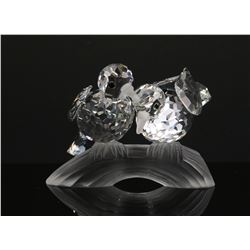 1989 Swarovski Crystal TURTLEDOVES