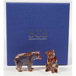 Swarovski Crystal Bear Cubs, SCS 5236593