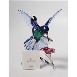 Swarovski HUMMINGBIRD, Crystal Figurine