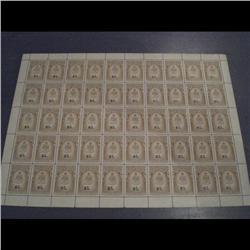 #QR36 XF-NH FULL SHEET OF 50 C$750,00 *