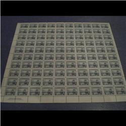 #253 XF-NH FULL SHEET OF 100 C$300,00