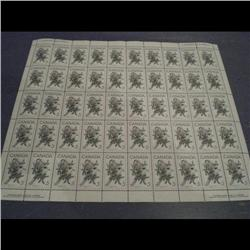#478 NH FULL SHEET 50 PLATE WITH 4 CORN