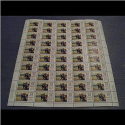#492 XF-NH FULL SHEET 50 CBN PRINT C$25