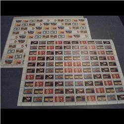 #519 to 528 XF-NH FULL SHEET OF 100 SCA