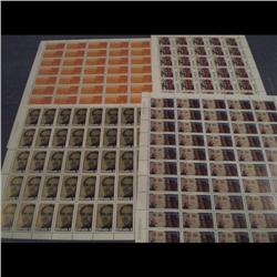 #615 to 618 XF-NH FULL SHEET OF 50