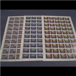 #741 to 743 XF-NH FULL SHEET OF 50  *CH