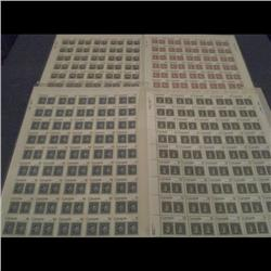 #753 to 756 XF-NH FULL SHEET OF 50 *CAP