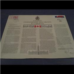 #916 & 909 CANADIAN CHARTER OF RIGHTS &