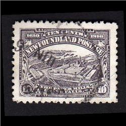 NEWFOUNDLAND #95 VF SON CDS