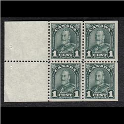 #163a VF-NH BOOKLET PANE OF 6 C$225,00