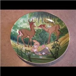 DISNEY PLATE *BAMBI YOUNG LOVE* #1796/20000