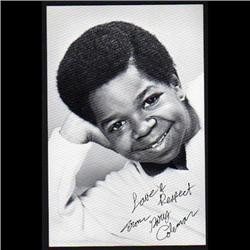 GARY COLEMAN SMALL SIZE PHOTO SIGNED