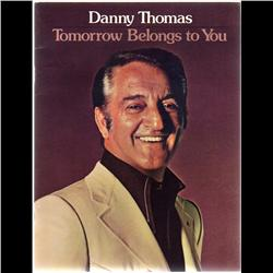 DANNY THOMAS MUSICAL CATALOG WITH AUTHENTICITY PROOF ENVELOP